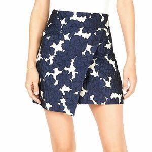 Maison Jules Large Blue Notte Mini Skirt 3Y710